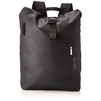 Bree Punch 713, Backpack M, Unisex-Adult Shoulder Bag, Black, 15x42x34 centimeters (B x H x T)