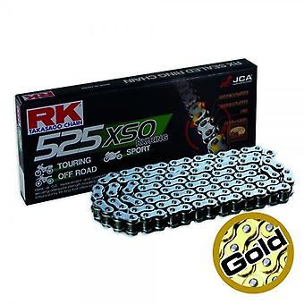 RK CHAIN GB525XSO-112 GOLD for Aprilia Dorsoduro 750 SMV 2009-Honda CB F2 800