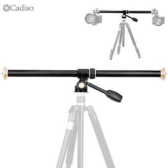 Caméra à barre horizontale Monter trépied Flèche rotative Multi-angle Colonne centrale Tige