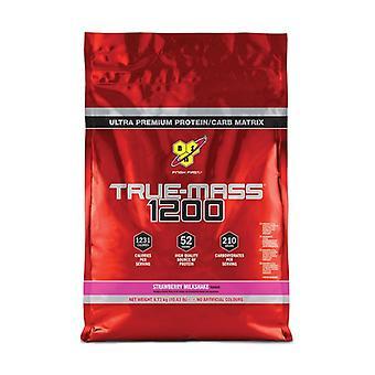 True Mass 1200, Strawberry Milkshake 4730 g