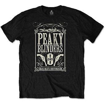 Peaky Blinders - Soundtrack Unisex Large T-Shirt - Black