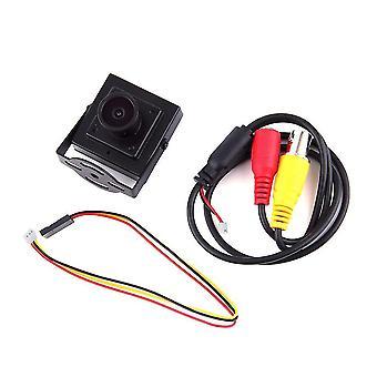 Neue Fpv Mini Hd 700tvl Weitwinkel 2,1 mm Objektiv Kamera Pal System Schwarz