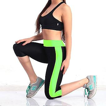Yoga pants elastic push up leggings sports workout tights gym girls trousers