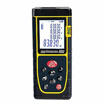 Laser Raddle 40m High Precision Laser Raders Portable Infrared Measuring Instrument Measurement Room Yellow Electronic Rule