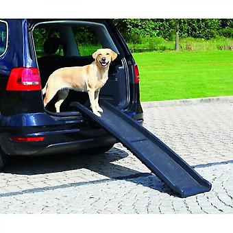 Hondenhelling 40x156 cm zwart
