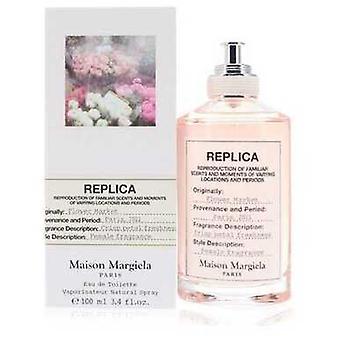Replika blomstermarknad av Maison Margiela Eau De Toilette Spray 3.4 Oz (kvinnor)