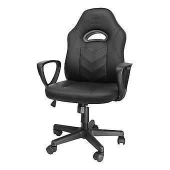 DELTACO GAMING DC110 junior chair, 100mm gaslift, PU-leather, black