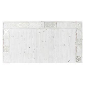 Kopfteil DKD Home Decor Weiß Holz (160 x 4,5 x 85 cm)