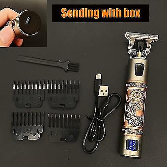 Electric razors men #39;S trimmer barber hair clipper hair cutting machine beard trimmer shaving machine