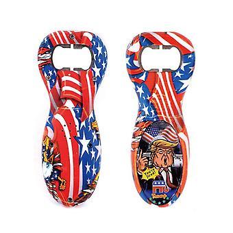 Neuheit Donald Trump Flaschenöffner Trump Sound Sprechen Sprechende Phrasen Korkenzieher Amerikanische Flagge Bier Flasche Öffner Spielzeug Geschenke