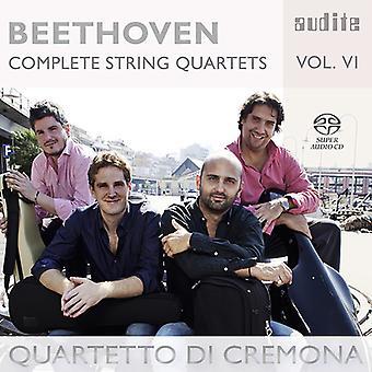 Beethoven, L.V. / Quartetto Di Cremona - Beethoven: Complete String Quartets 6 [SACD] USA import