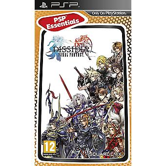 Dissidia Final Fantasy  Essentials Edition Sony PSP Game