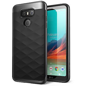 LG G6 Case, Clayco Helios Series Premium Hybrid Protective Case for LG G6 2017 Release