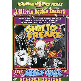 Getto Freaks/Way Out [DVD] USA importeren