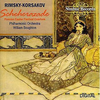 Rimski Nikolaï-Korsakov-Rimski-Korsakov: Schéhérazade [CD] USA import