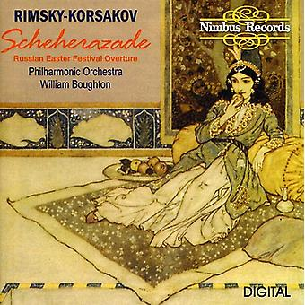 N. Rimskij-Rimskij-Korsakov: Scheherazade [CD] USA import