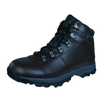 Hej vattentät Tec Eurotrek II WP Womens läder stövlar - Brown