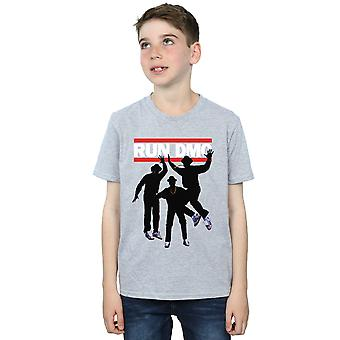 Run DMC Boys Sihouette Jump T-Shirt