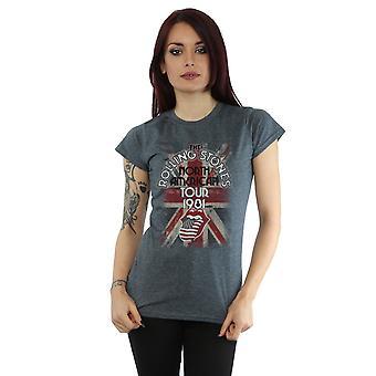 Rolling Union Jack T-Shirt de la tournée américaine Stones féminines