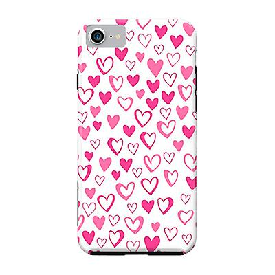 ArtsCase Designers Cases LoveHearts for Tough iPhone 8 / iPhone 7