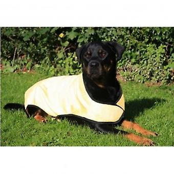 frais de refroidissement de chien Manteau-jaune-x-petit (28cm)