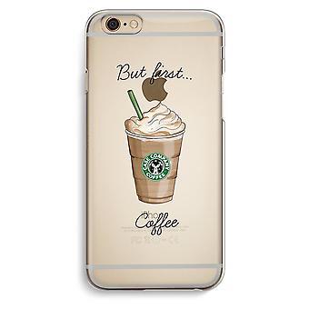IPhone 6 6 s transparentes Gehäuse (Soft) - aber erste Kaffee