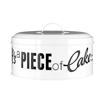 Premier Housewares Pun and Games Round Cake Tin