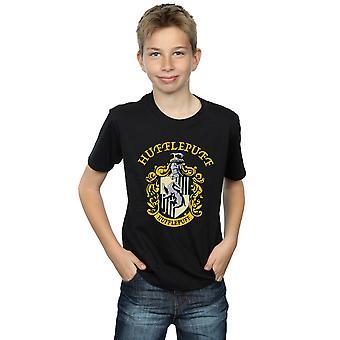 Harry Potter jongens Huffelpuf Crest T-Shirt