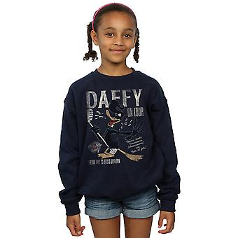 Looney Tunes Girls Daffy Duck Concert Sweatshirt