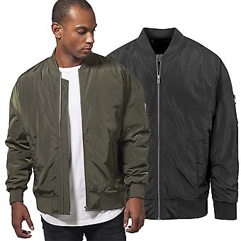Urban classics - OVERSIZED pilot Aviator bomber jacket