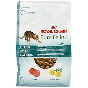 Royal Canin chat nourriture Pure féline animée mélange sec 300 g