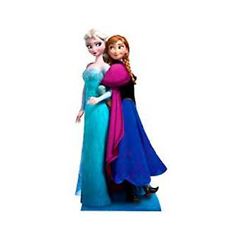 Anna & Elsa aus Frozen Cardboard Ausschnitt SC730