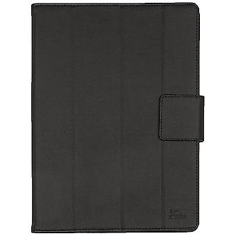 RIVACASE 3117 Polyurethane Leather Universal Slim Tablet Case for 10.1 Inch Devices Black