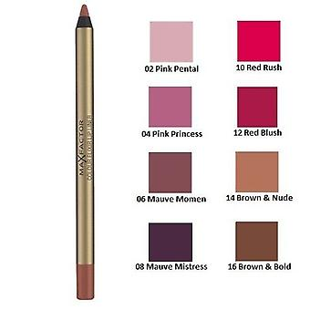 3 x Max Factor Colour Elixir Lip Liner - Choose From 8 Shades
