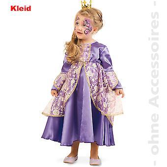 Kleine Prinzessin Kinder Kostüm Lila Edeldame Prinzessinkostüm Kinderkostüm