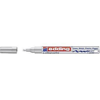 Edding 4-753054 E-753 Lakmarkering Zilver 1 mm, 2,5 mm 1 pc's/pack