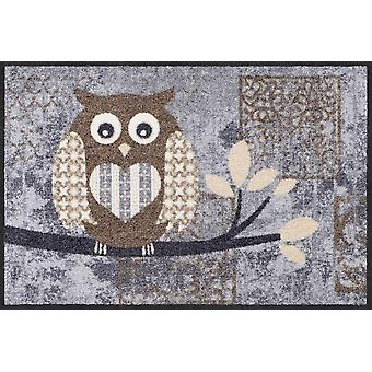 Nature lavable de hibou Vintage Betty de paillasson de le lion salon chic 50 x 75 cm