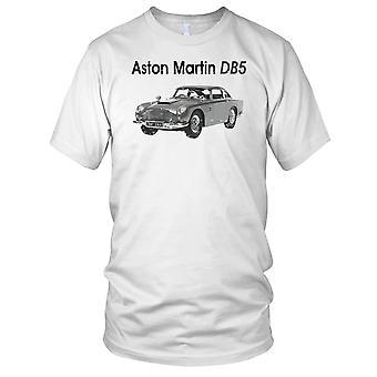 Aston Martin DB5 Classic Car Mens T Shirt