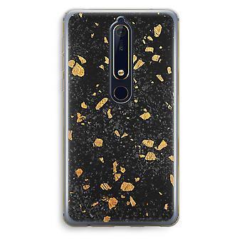Nokia 6 (2018) boîtier Transparent (doux) - Terrazzo N ° 7