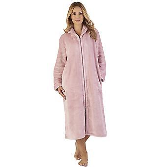 Slenderella HC2345 Women's Luxury Fleece Robe Loungewear Bath Dressing Gown