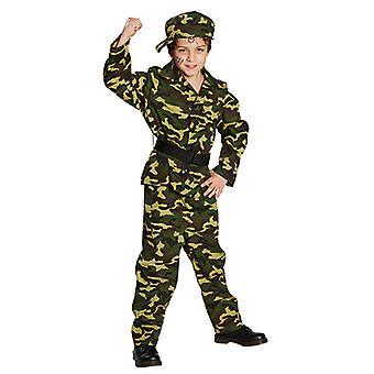 Fighters Army soldier kostume militære børn