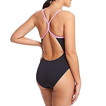 ZOGGS damskie płomień Sprintback jednoczęściowy strój kąpielowy pływanie kostium kąpielowy