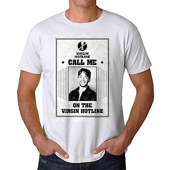 Married With Children Call Me Virgin Men's White T-shirt