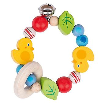 Heimess Touch Ring Rattle elastisk Duck
