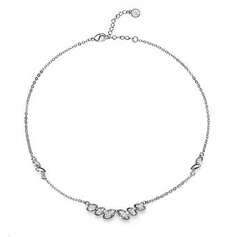 Oliver Weber Chain Feeling Rhodium Crystal