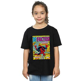 Marvel Girls Spider-Man X faktor obal T-shirt