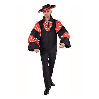 Mannen kostuums mannen Spaanse luxe blouse voor mannen