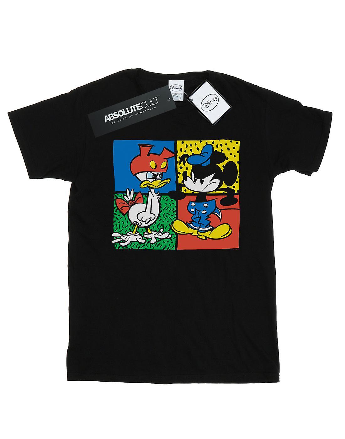 Disney Men's Mickey Mouse Donald Clothes Swap T-Shirt