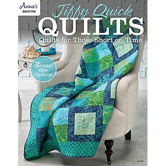 Jiffy Quick Quilts - Quilts for Those Short on Time by Annie's - 97815