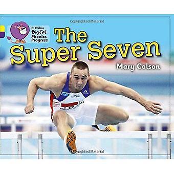 Collins Big Cat Phonics Progress - la Super Seven: Band 03 08 bande/jaune violet